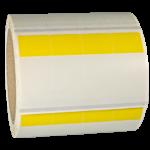 ONE2ID vinyl label geel draden en kabels
