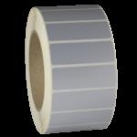 ONE2ID polyester zilver gemetalliseerd typeplaatje industrie