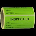ONE2ID voordelige papieren inspectiestickers