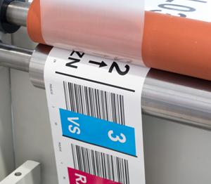 ONE2ID barcode labels mat laminaat