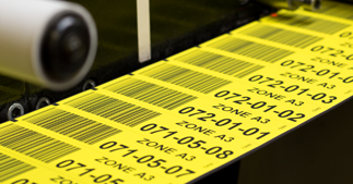 ONE2ID magazijnlabels stellinglabels magnetische etiketten