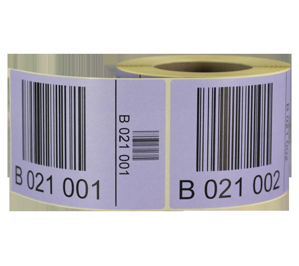 ONE2ID pallet stickers dozen stickers magazijn