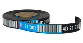 ONE2ID magnetische etiketten magazijn labels