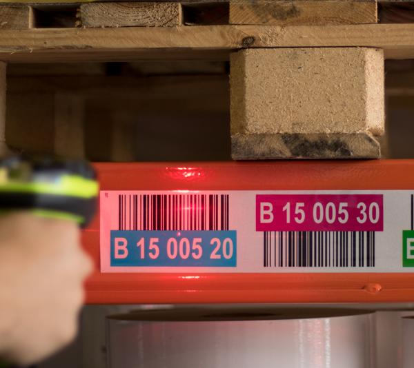 ONE2ID Reflektierende Etiketten Scannen mit hoher Scanreichweite