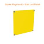ONE2ID Lagerschilder mit Magnete für Stahl und Metall