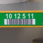 ONE2ID Lagerplatz-Etiketten mit Höhenfarben