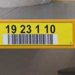 ONE2ID Etiketten Kommissionierung Regaletiketten