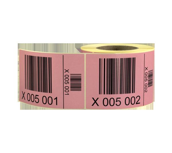 ONE2ID Palettenetiketten mit Strichcode Barcode Etiketten