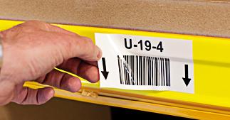 ONE2ID Ablösbare Etiketten Lagerregaletiketten