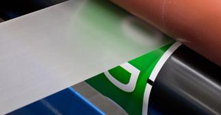 ONE2ID Barcode-Etiketten mit Laminierung
