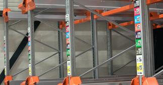 ONE2ID Blocklagerschilder Standortschilder