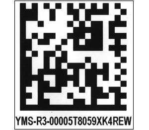 ONE2ID DataMatrix Code 2D Code Logistik