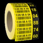 ONE2ID Etikett zur Kommissionierung mit Prüfziffern