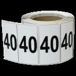 ONE2ID Etiketten für Kragarmregale Polyester-Etikett
