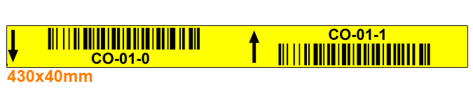 ONE2ID Etiketten für die Kommissionierung