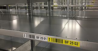 ONE2ID Etiketten mit permanentem Klebkraft Kommissionierung