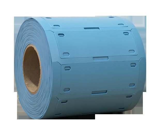 ONE2ID Kabelkennzeichnung Polyurethan blau