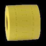 ONE2ID Kabelanhänger Polyurethan gelb
