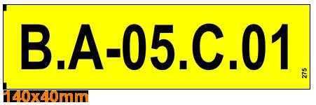ONE2ID Kommissionier-Etiketten-Lageretiketten-Stellplatzetiketten