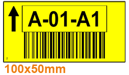ONE2ID Lageretiketten Kommissionieretiketten