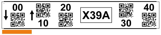 ONE2ID Lagerplatz-Etiketten mit 2D-QR-Code
