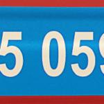 ONE2Id Lagerregaletiket Ebene 5 blau