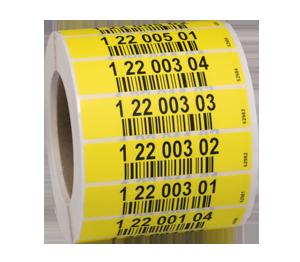 ONE2ID Lagerregaletiketten Kommissionierung Barcode-Etiketten