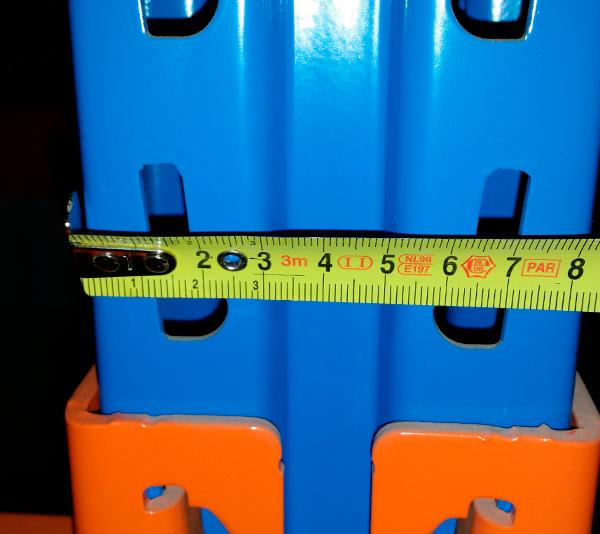 ONE2ID Lagerregalständer Barcode-Etiketten