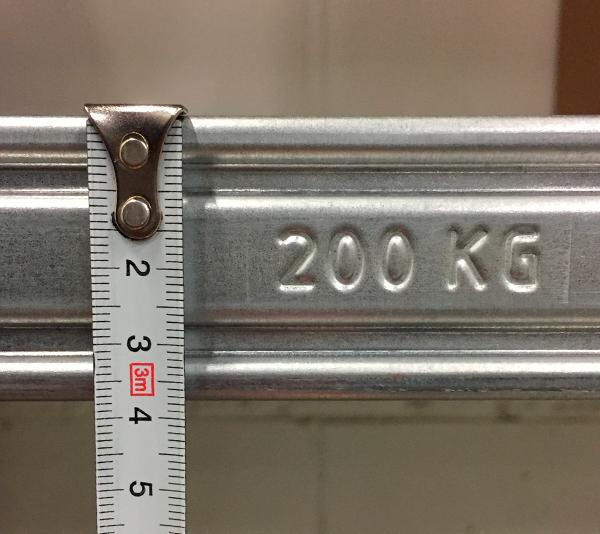ONE2ID Lagerregalträger Barcode-Etiketten