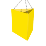 ONE2ID Lagerschild Dreieck
