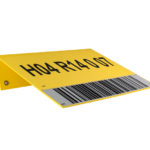 ONE2ID Lagerschild mit reflektierendem Barcode-Etikett