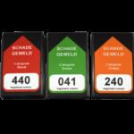 ONE2ID Magnetetiketten Fahrzeuge Regale