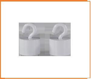 ONE2ID Magnethaken mit hoher Haftkraft Schilderbefestigun