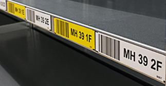 ONE2ID Magnetische Etiketten Kommissionieretiketten