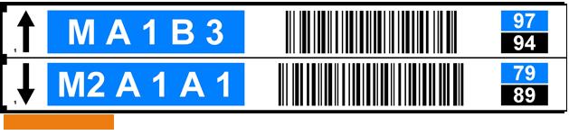 ONE2ID Multilevel Pick by Voice Etikett Lageretiketten