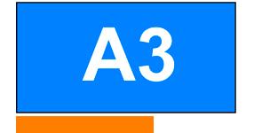 ONE2ID Palettenregale Etiketten blau Höhenfarben