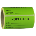 ONE2ID Papieraufkleber Inventar-Etikett