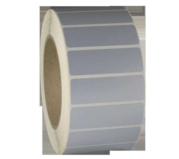 ONE2Id Polyester-Etiketten metallisiert Typenschild Geräte