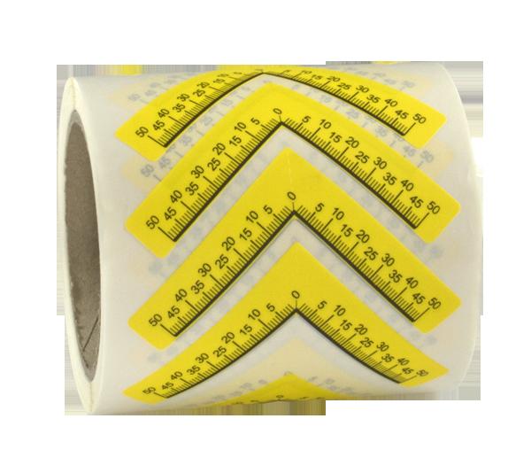 ONE2ID Polypropylen Etiketten wiederablösbar