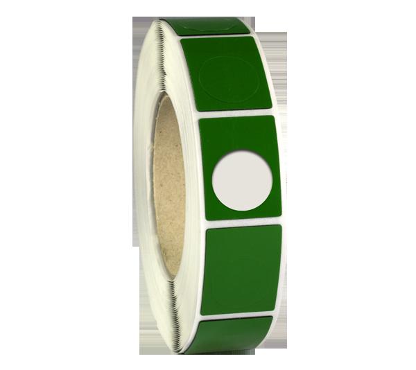 ONE2ID Raised-Label-Eprep-Typenschild grün