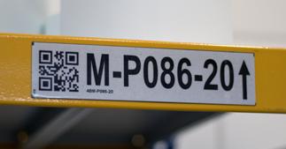 ONE2ID Reflektierende Etiketten Regaletiketten Kommissionierung