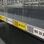 ONE2ID Regaletiketten Kommissionierung magnetische Etiketten