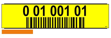 ONE2ID Regaletiketten Kommissionierung mit Barcode