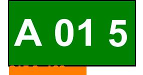 ONE2ID Regaletiketten mit Höhenfarben grün