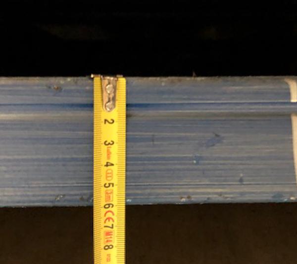 ONE2ID Regalträger Lagerhaus Regaletiketten mit Barcode