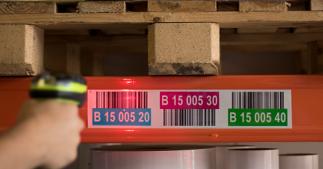ONE2ID Retro reflektierende Etiketten für Hochregallager