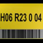 ONE2ID Schilder und Wegweiser mit Barcode-Etiketten