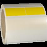 ONE2ID Selbstlaminierende Wickeletiketten Vinyl Drahtmarkierung