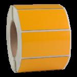 ONE2ID Typenschild Gelb Polyester Raised Label