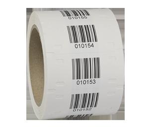 ONE2ID Typenschild wetterfest Polyethylen-Etiketten